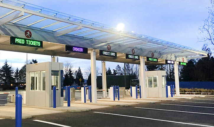 Parking-Toll-Booth