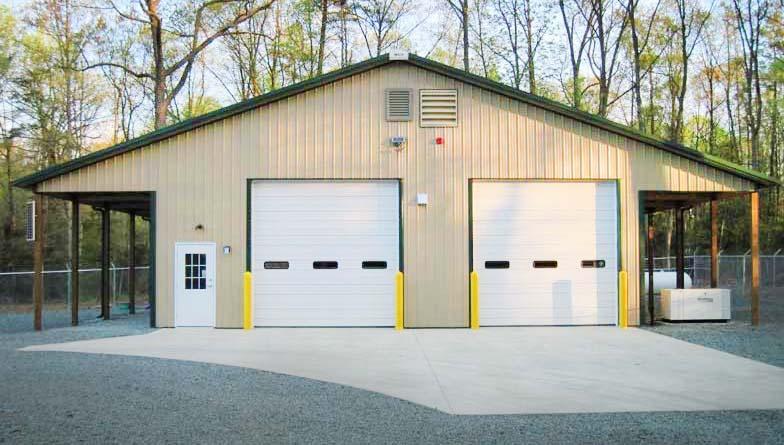 Preengineered-Metal-Garage-Building
