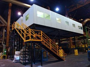 Modular Office Elevated