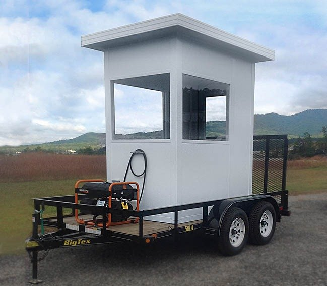 Mobile-Cool-Down-Booth