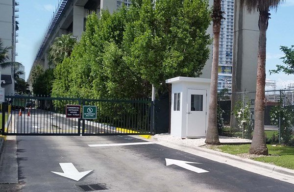 Prefabricated-Parking-Booth