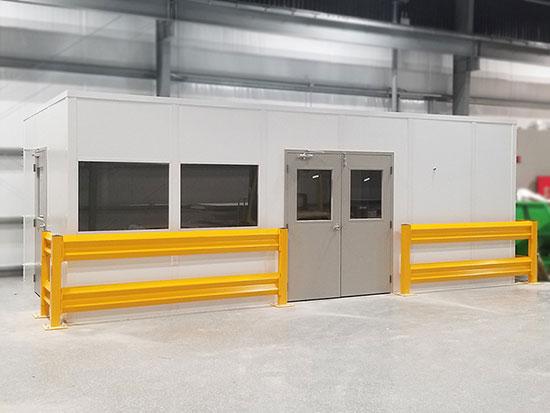 Warehouse-Safety-Railing