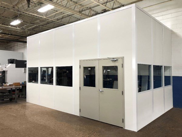 Modular CMM Rooms