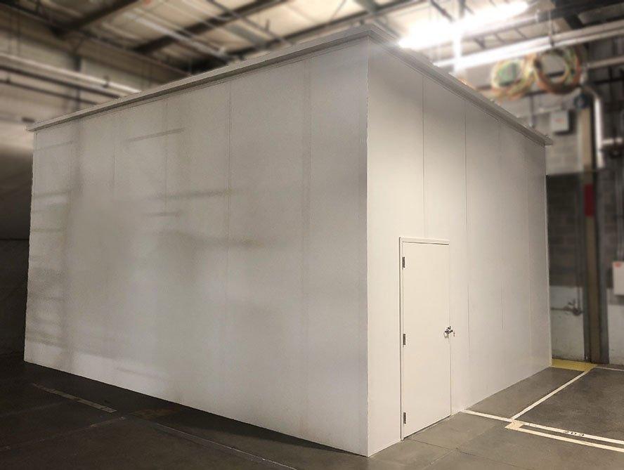 prefabricated server room
