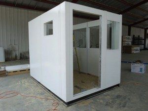 panel built security booth company online