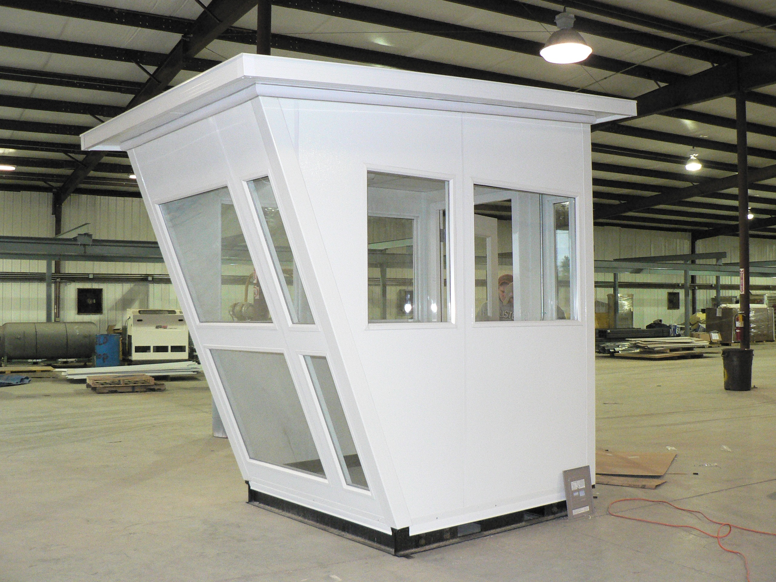 Prefabricated guard house panel built for House panels prefabricated