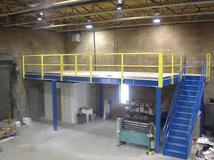 Steel Mezzanines Prefabricated By Panel Built Panel Built
