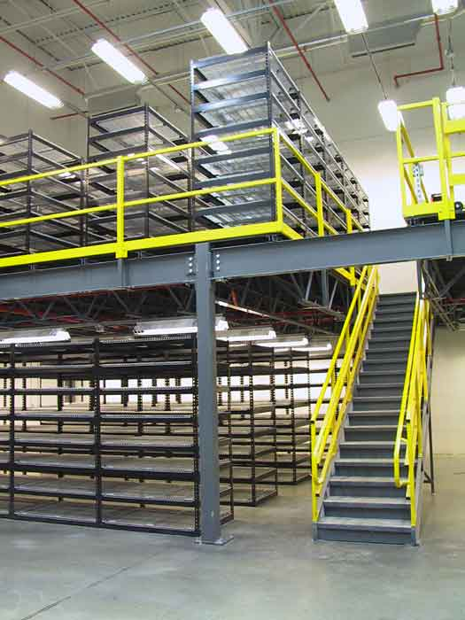 Panel Built mezzanine