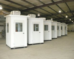 modular security booths