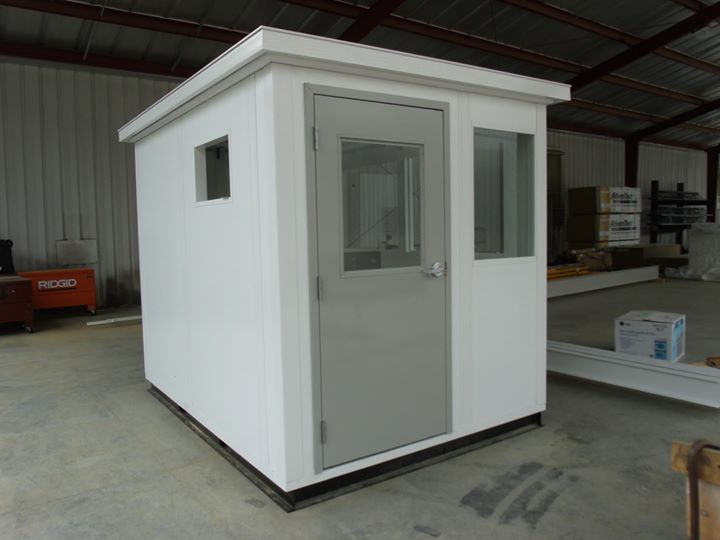 Panel Built guard booth