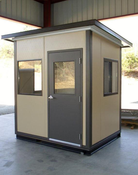 Pre-fabricated security guard houses