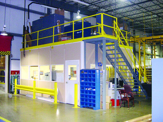 Ways to Maximize Vertical Space with Mezzanines