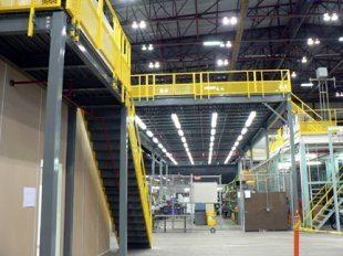 Structural Steel Mezzanine