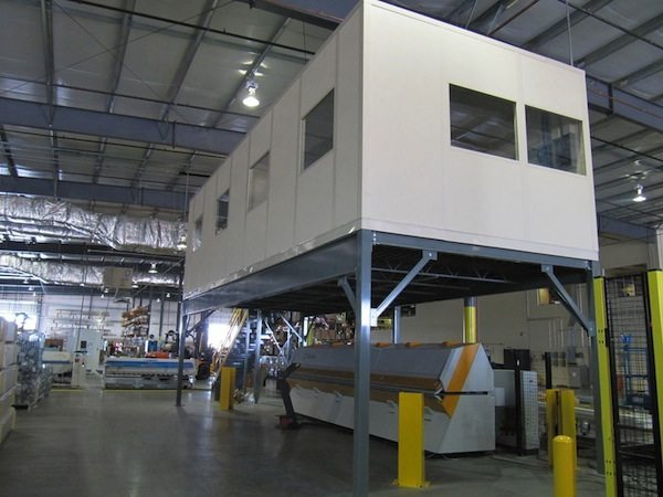 Modular inplant offices by Panel Built