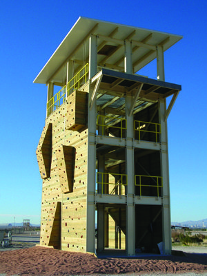 Prefabricated Observation And Range Towers Panel Built
