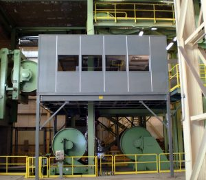 Modular Inplant Office on Mezzanine