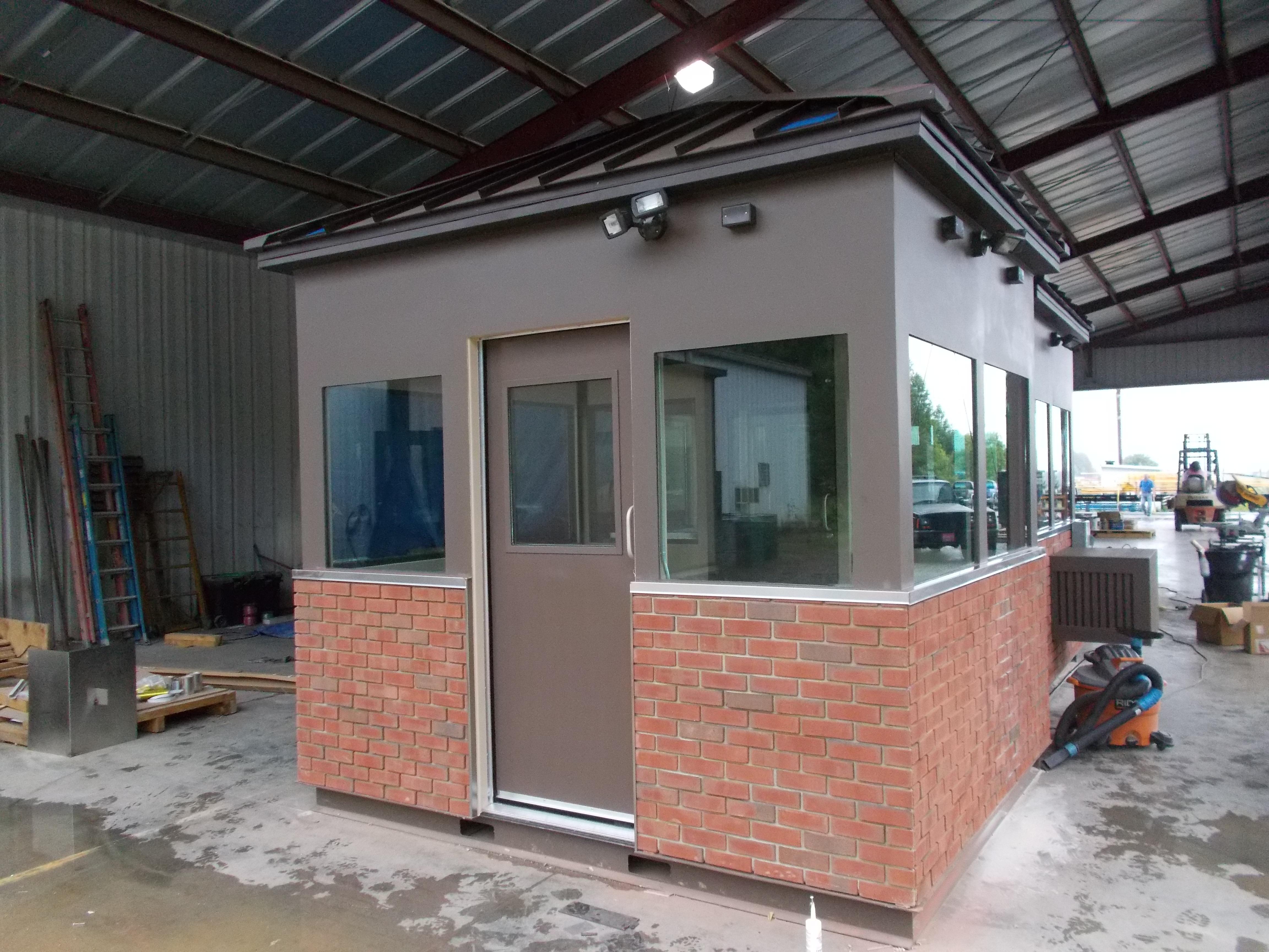 ballistic modular building
