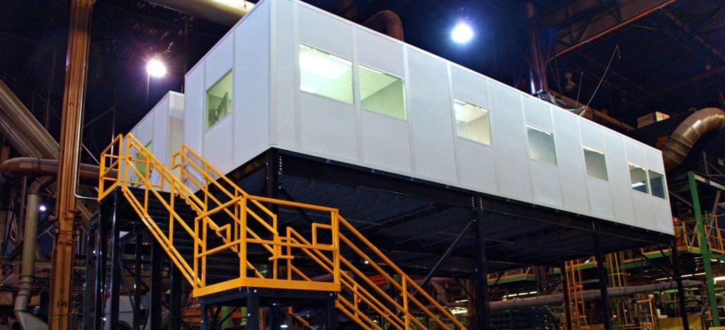 modular inplant on mezzanine