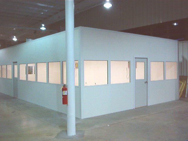 modular cleanroom mezzanine