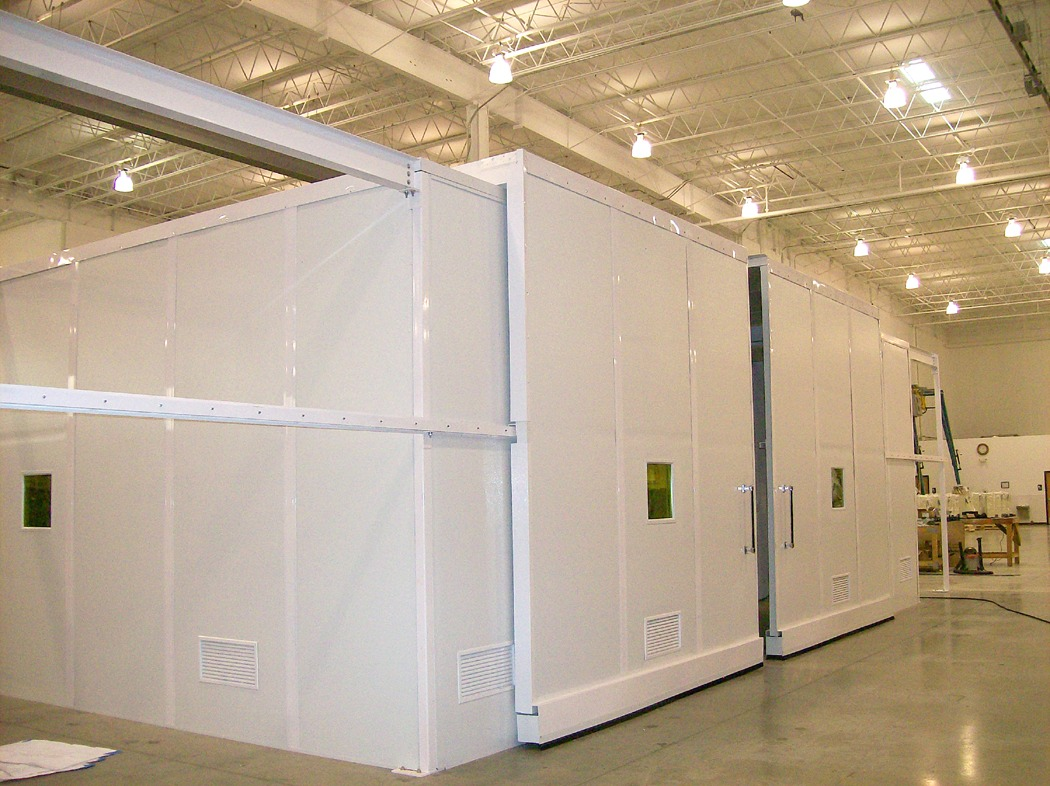 prefabricated non-metallic cleanrooms