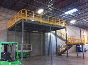 CAD – Mezzanines Built