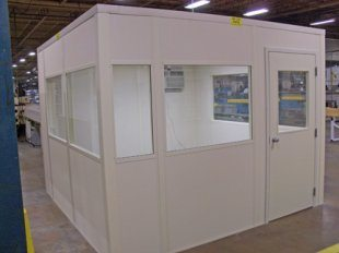 2-Day Quick Ship for In-Plant Modular Office Buildings | Panel Built