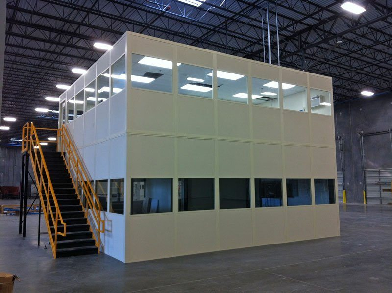 Two Story In-Plant Office