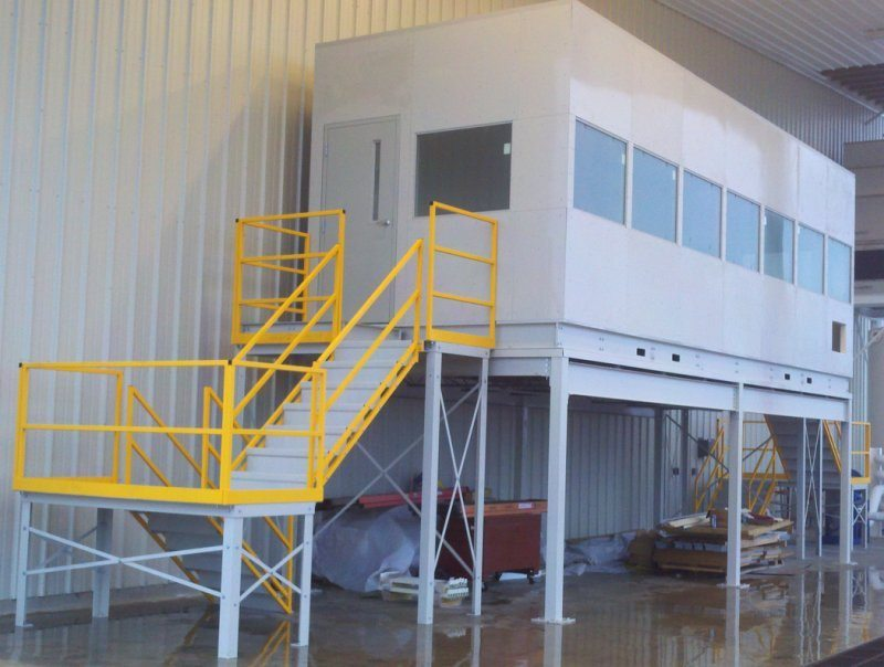 Preassembled Modular or In-Plant Offices