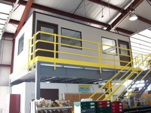 Panel Built pre-fabricated steel building
