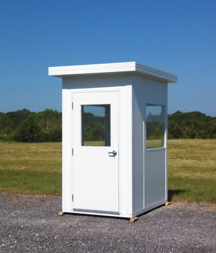 Panel Built prefabricated guardhouse