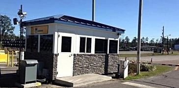Custom Guard Booth