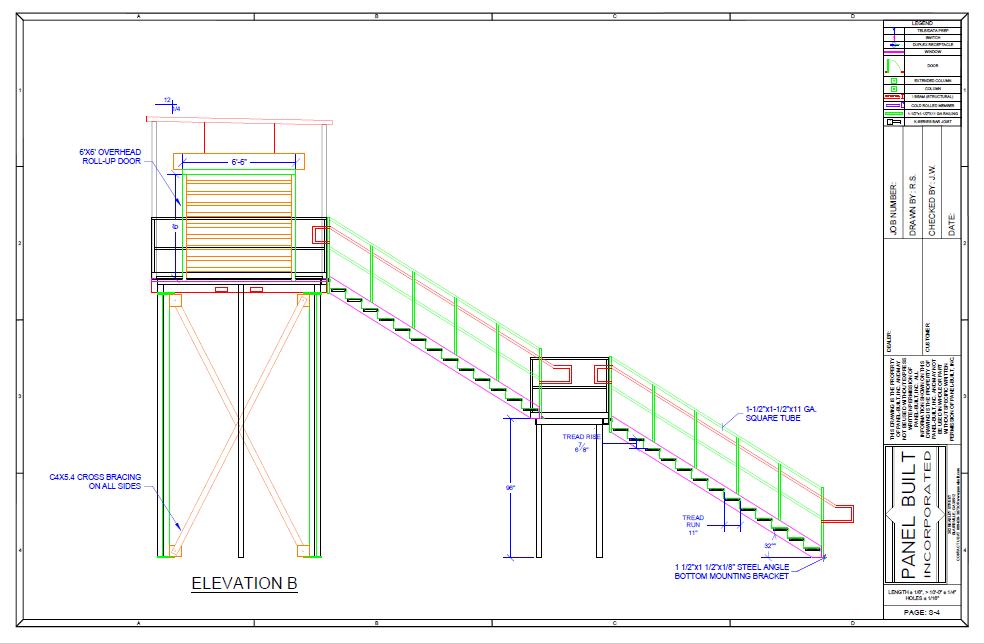 Observation Tower CAD