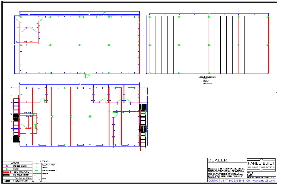 Two Story Inplant Office