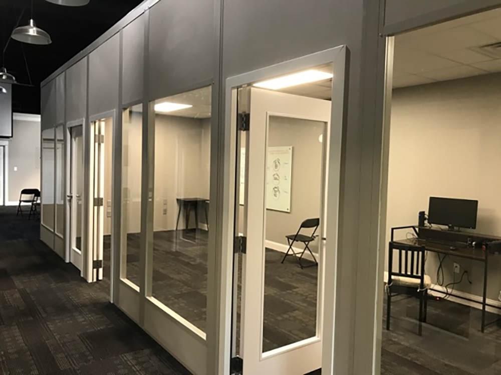 Full Glass Modular Offices
