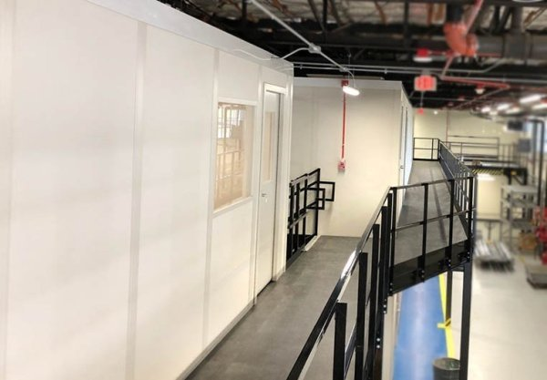 Second Story Office Catwalks