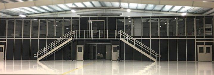 2 story modular building