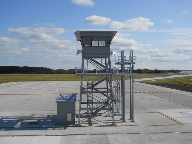 Beautiful Air Traffic Control Tower