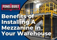 Benefits of Installing A Mezzanine In Your Warehouse