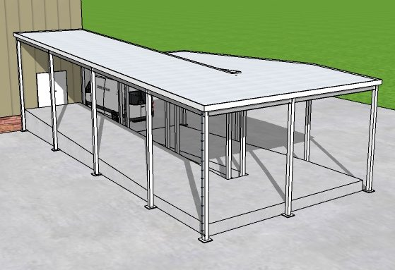 Canopy for Loading Dock