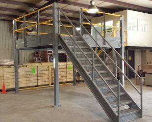 Cold Roll Mezzanine | Rolled Steel Mezzanine | Panel Built