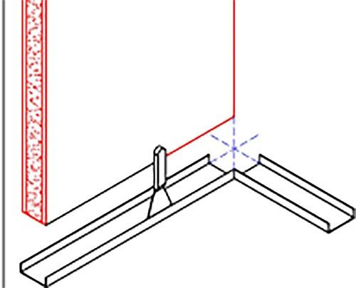 Corner Install