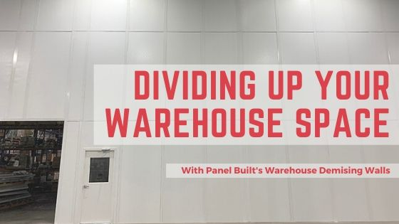 Dividing Up Your Warehouse Space