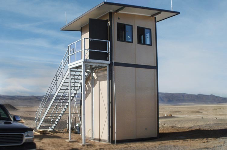Enclosed Range Tower