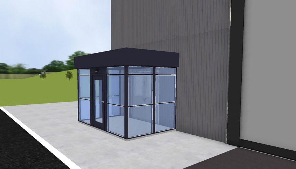 Entry Vestibule   Prefabricated Vestibules   Panel Built