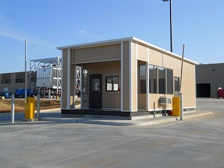 prefabricated guardhouse