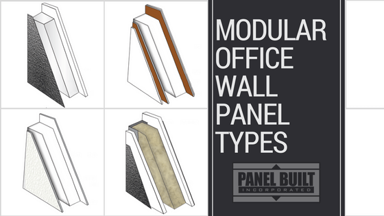 Modular Office Wall Panel Types