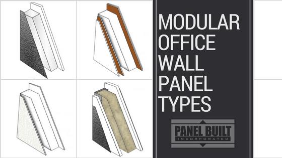 Modular Office Wall Panel Types