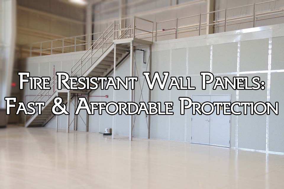 Fire Resistant Wall Panel