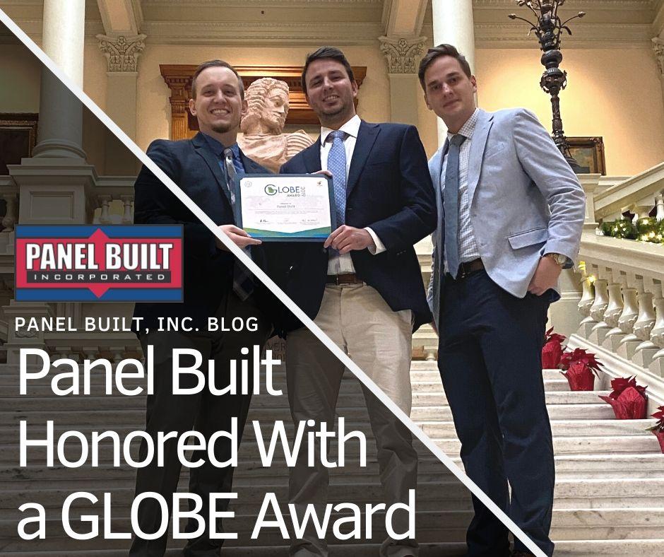 GLOBE AWARD PANEL BUILT