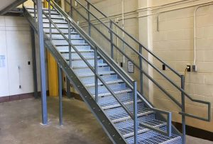 Galvanized Steel Stairs